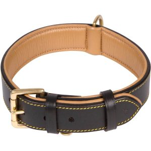 Soft Touch Collars Luxury Real Leather