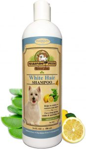 Dog Whitening Shampoo